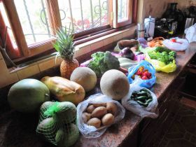 Paul Daemen's haul from the Mayasa food market, Nicaragua – Best Places In The World To Retire – International Living