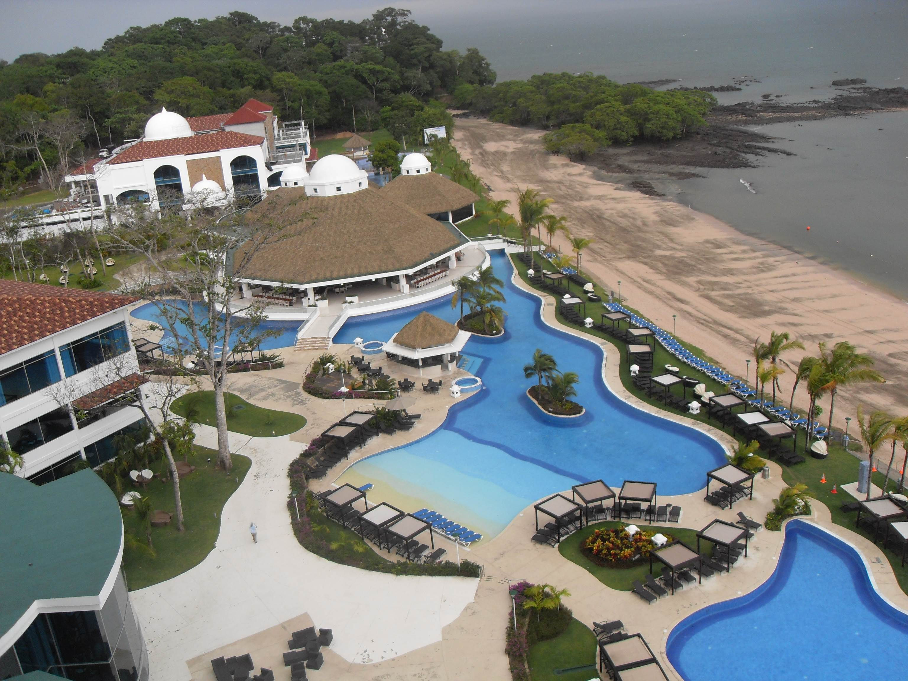 From the balcony of the Westin Playa Bonita Hotel in Veracruz, Panama