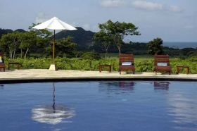 San Juan del Sur pool with umbrella – Best Places In The World To Retire – International Living