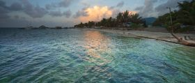 San Pedro Ambergris Caye beach at dawn – Best Places In The World To Retire – International Living