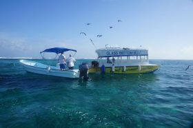 San Pedro Ambergris Caye two boats in clear water – Best Places In The World To Retire – International Living