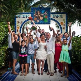 Special event at the Blue Tang Inn, Ambegris Caye, Belize – Best Places In The World To Retire – International Living