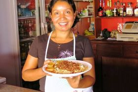 Waitress at Smiley's in Pedasi Panama – Best Places In The World To Retire – International Living