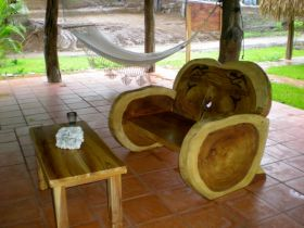Wooden chair and table made in Pedasi Panama – Best Places In The World To Retire – International Living