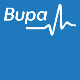 Bupa logo – Best Places In The World To Retire – International Living