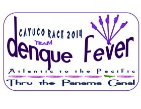 Denque Fever T-Shirt Front Panama Canal Race 2014 – Best Places In The World To Retire – International Living