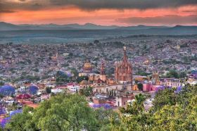 View of San Miguel de Allende from hillside – Best Places In The World To Retire – International Living