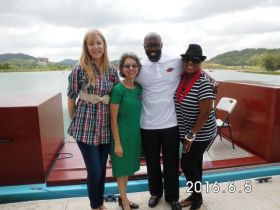 M and L Transport at presentation of Panama Canal Expansion  – Best Places In The World To Retire – International Living