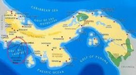 Map of Panama, showing Gulf of Chiriqui – Best Places In The World To Retire – International Living