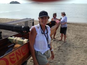 Renate Jope of Team Denque Fever Panama Canal Race 2014 – Best Places In The World To Retire – International Living