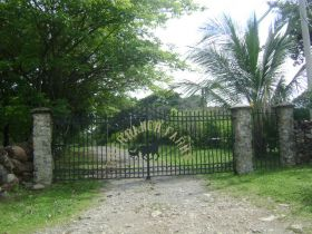 Hand crafted iron gate on home in Boquete, Panama – Best Places In The World To Retire – International Living