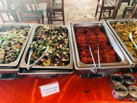 Buffet style food in Isla Mujeres – Best Places In The World To Retire – International Living