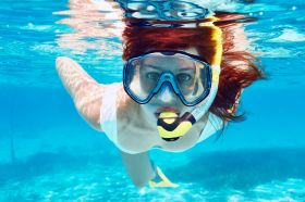 Woman snorkeling off Isla Mujeres – Best Places In The World To Retire – International Living