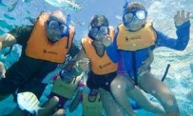 Several snorkelers in the water off Isla Mujeres – Best Places In The World To Retire – International Living