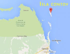 Map showing Isla Contoy – Best Places In The World To Retire – International Living