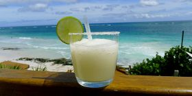 Margarita with background of Isla Mujeres – Best Places In The World To Retire – International Living