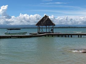 Lagoon with boat and dock in Panama – Best Places In The World To Retire – International Living