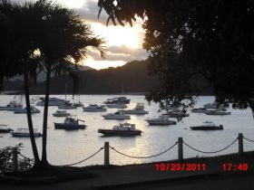 Amador Causeway at Sunset in Panama with sail boats – Best Places In The World To Retire – International Living