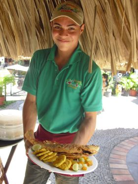 Typical meal at Mi Ranchito on Amador Causeway first island – Best Places In The World To Retire – International Living