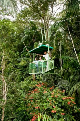 Arial Tram through Rainforest at Gamboa Rainforest Resort – Best Places In The World To Retire – International Living