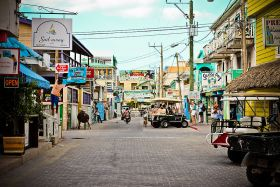 San Pedro Ambergris Caye main street – Best Places In The World To Retire – International Living