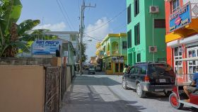 San Pedro, Ambergris Caye street – Best Places In The World To Retire – International Living