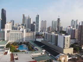 From the Panama Hilton Garden Inn Hotel top floor – Best Places In The World To Retire – International Living