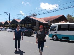 Bente Larsena and Linda Jensenon a street in El Valle de Anton – Best Places In The World To Retire – International Living