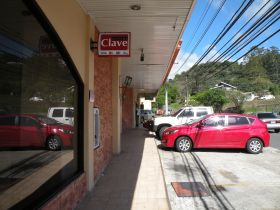 Street with retail shops in Boquete, Panama – Best Places In The World To Retire – International Living