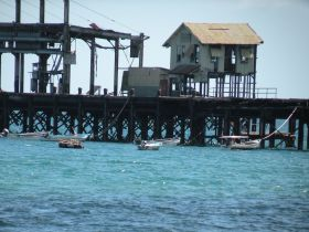 Teh oild pier still stands at Puerto Armuelles Panama – Best Places In The World To Retire – International Living