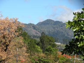 Mountains of Boquete with autumn trees in foreground – Best Places In The World To Retire – International Living