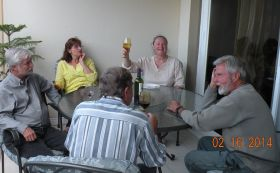 Half of the Patio Party in Boquete, February 2014 – Best Places In The World To Retire – International Living