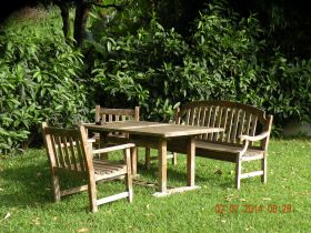 Chairs and table in Boquete garden – Best Places In The World To Retire – International Living