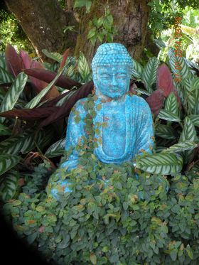 Buddah in a garden in Boquete – Best Places In The World To Retire – International Living