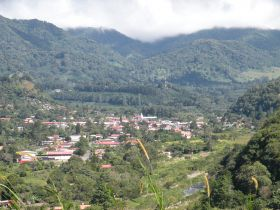 View of Boquete, Panama looking down from the mountain above it – Best Places In The World To Retire – International Living