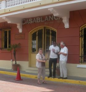 Outside a cafe' in Old Town Panama – Best Places In The World To Retire – International Living