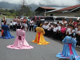 Costa Rican dancers entertian at a school in Volcan, Panama – Best Places In The World To Retire – International Living