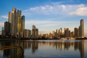 skyscrapers in Panama CIty viewed rom Cinta Costera – Best Places In The World To Retire – International Living