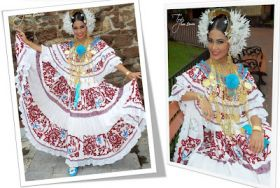 Tipical Dress of Panama - The Pollera – Best Places In The World To Retire – International Living