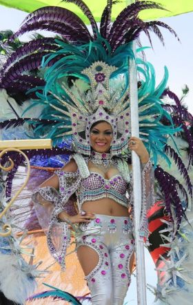 One of the queens of Carnavales in Pedasi, Panama– Best Places In The World To Retire – International Living – Best Places In The World To Retire – International Living