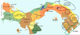 Map of Panama showing comarcas – Best Places In The World To Retire – International Living