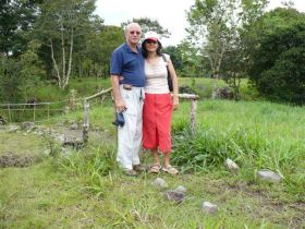 Robert and Eneida Reichert at buiding site for condos In David, Panama – Best Places In The World To Retire – International Living