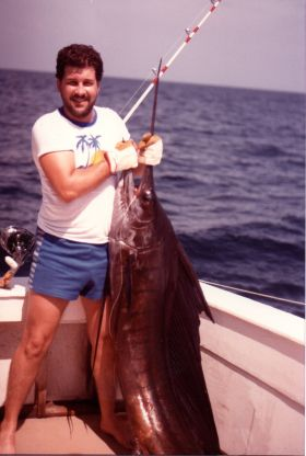 Gonzalo de la Guardia fishing in Panama 1981 – Best Places In The World To Retire – International Living