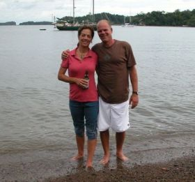 Michael and Martha Vuytowecz in Panama in 2007  – Best Places In The World To Retire – International Living