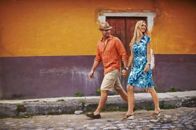 Stylish man and woman walking in Panama City, Panama – Best Places In The World To Retire – International Living