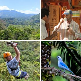 Boquete Panama valley, drinking coffee, zip lining, and vegetation – Best Places In The World To Retire – International Living