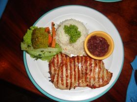 Typical plate of food from Granada Nicaragua – Best Places In The World To Retire – International Living