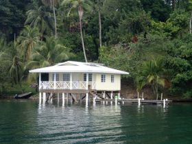 Anne-Michelle Wand Bocas Del Toro, Panama house on stilts over ocean – Best Places In The World To Retire – International Living